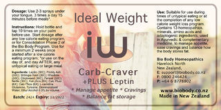 Carb Craver +PLUS Leptin